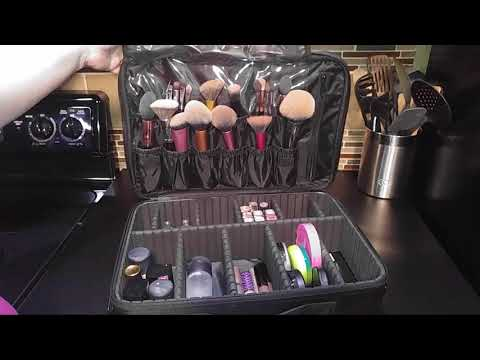 REVIEW:  HOMDE Travel Cosmetic Organizer Case