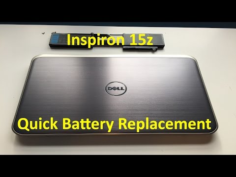 Dell Inspiron 15z Battery Replacement