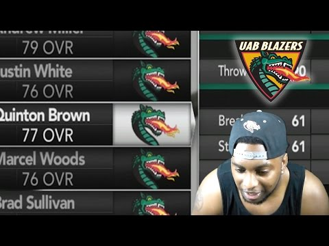 HARDER SLIDERS!!! HOW TO RECRUIT!!! INJURIES!!! HEISMAN WATCH!!! UAB DYNASTY