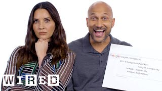 Keegan-Michael Key & Olivia Munn Answer the Web