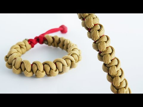 How to Make a Mad Max Chiton Knot Paracord Bracelet Tutorial