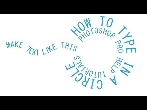 Photoshop CS6 Circular Text Around A Path