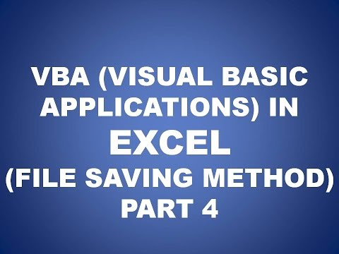 VBA IN EXCEL (HOW TO SAVE VBA FILE), PART 4, FUTURE KEY SOLUTIONS, RAJPURA