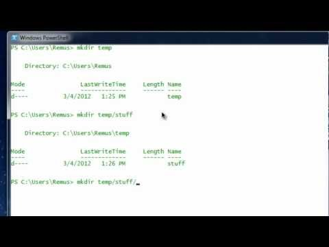 Windows Powershell Basics: Part1