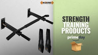 Prime Day Strength Training Deals 2018: Kore K-WM Wall Mounting Chin up Bar with Solid One Piece