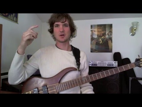 Learn All The Notes On Your Bass Neck - For SUPER Beginners!
