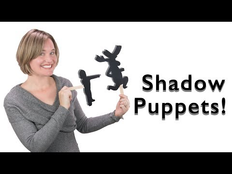 How to Make Shadow Puppets | Fun DIY Kids Craft | Cooper and the Moose