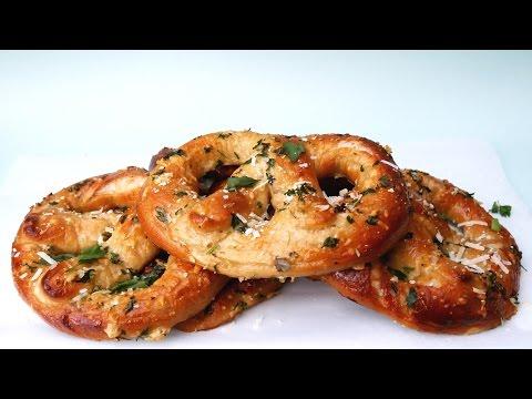 Soft Garlic Parmesan Pretzels - Treat Factory