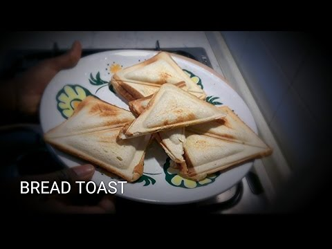 How to make a delicious bread toast.