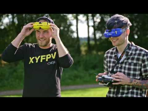 DanTDM Learns to Race Drones   Drone Racing League and Hauk EP 1