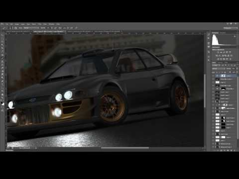 Timelapse - How to make your renders look better with Photoshop