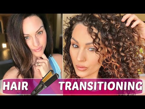 TOP TIPS FOR TRANSITIONING TO NATURAL CURLY HAIR   The Glam Belle