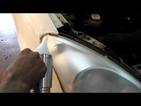 Myvi headlamp coating