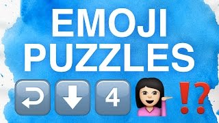 Can You Solve These Emoji Puzzles?
