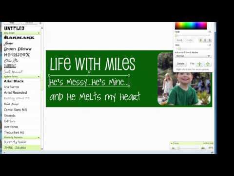 How to Create a Free Custom Blog Header in Picnik