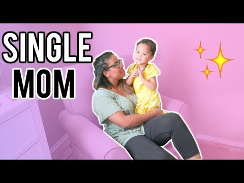 SINGLE MOM: A DAY IN THE LIFE! SAYING GOODBYE