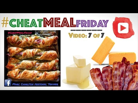 #CheatMealFriday - Cheese & Bacon Twists | Cheat Meal 7 of 7 | M C P T