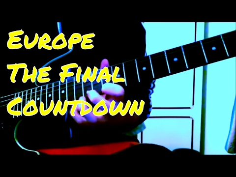 Europe/The Final Countdown/Guitar Solo Cover/Practice Mode
