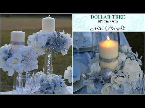 DIY Dollar Tree Wedding  Centerpiece for $10! | DIY Dollar Tree Decor | DIY Tutorial