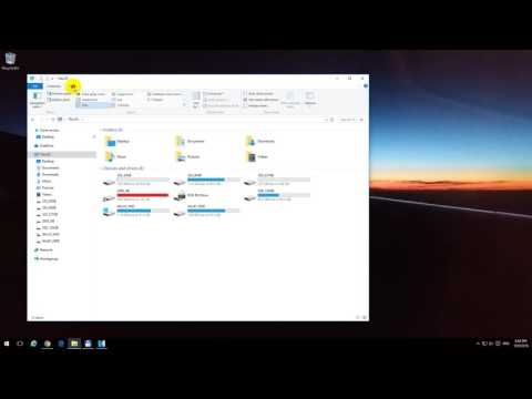 How to show Drive Letters in File Explorer (Windows 10)