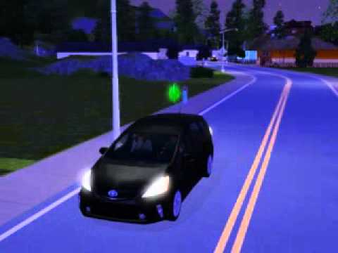 The Sims 3 Generations My Sim teaching Teen how to Drive