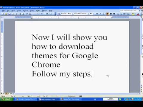 How to download themes for Mozilla Firefox and Google Chrome