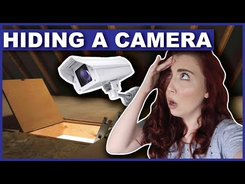 Hiding A Camera To Catch The Person In My Attic (UPDATE)