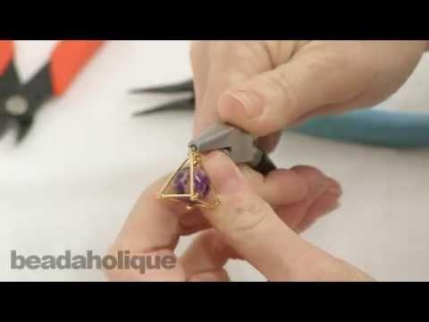 How to Make a Geometric Pyramid Using Bar Chain