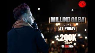 MILLIND GABA LIVE @PGDAV, FOR BOOKINGS-9811179580