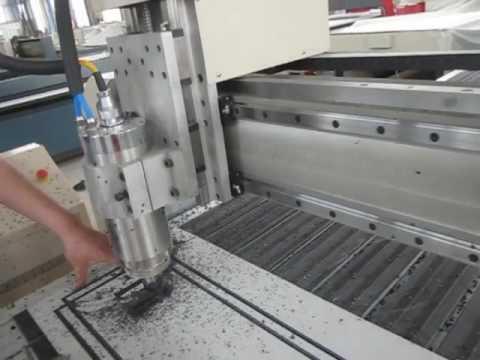 CNC router cut aluminum composite panel