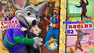 SHAWN goes to CHUCK E CHEESE