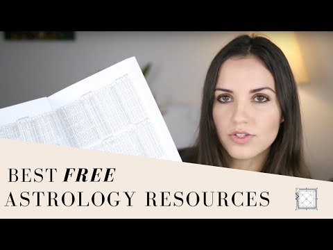 Best FREE Astrology Resources | Vedic & Western!