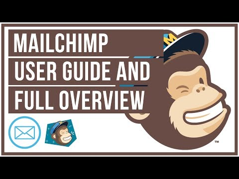 Mailchimp Full Tutorial And Overview - How To Setup Lists And Campaigns: 2019 Version