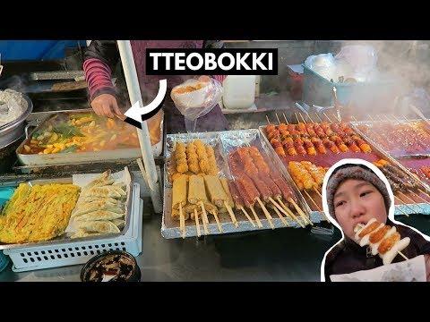KOREAN STREET FOOD IN MYEONGDONG (THINGS YOU SHOULD TRY)