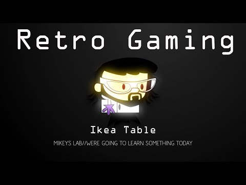 Retro Arcade Gaming Table - part 1 - Physical Build