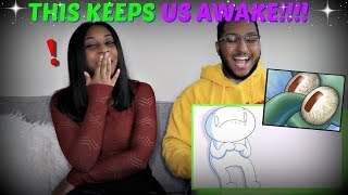 "TheOdd1sOut ""Top 10 Things That Keep Me Awake at Night"" REACTION!!!"
