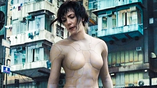 GHOST IN THE SHELL All Trailer + Movie Clips (2017)