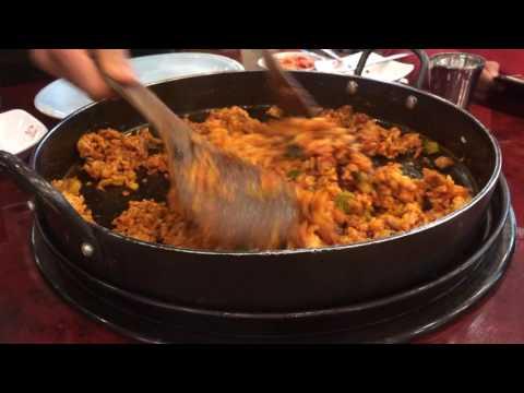 Chicken Galbi Yoogane Restaurant, Seoul, South Korea