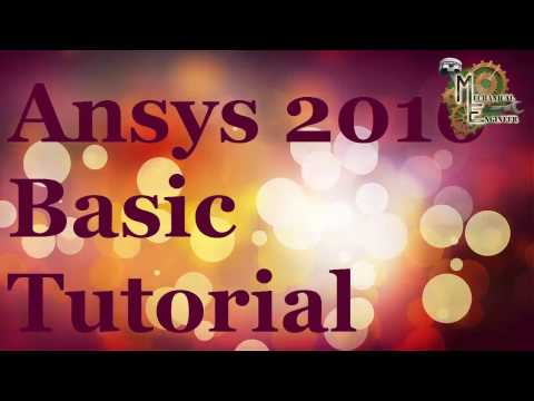 Ansys 2016 Basic Tutorial in Hindi For Begineer