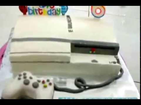 Playstation 3 Cake Theme