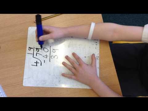 Singapore Maths Division Method