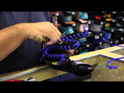 Re-lacing a Glove - Midway Sports