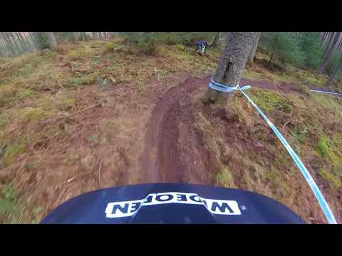 Christo Gallagher on track at Tweedlove | Team Wideopenmag