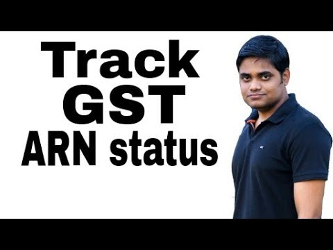 Check GST Registration Application STATUS || How to Track  ARN status??? || In Hindi