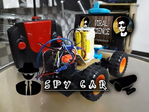 How to make a remote controlled Spy Car with camera