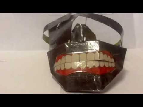 Homemade Tokyo Ghoul Kaneki's Mask