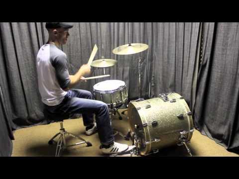 Hip hop drum beat using 3 famous breakbeats