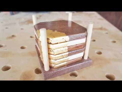 How to make your own coaster set