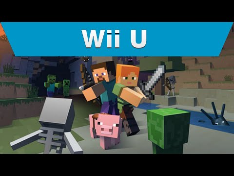 Minecraft WII U: Official Gameplay Trailer (HD)