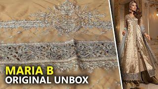 c27c09941e Maria B Wedding Collection 2019 - Unbox Ganga Jamni BD-1510 - Sara Clothes  Try on Haul